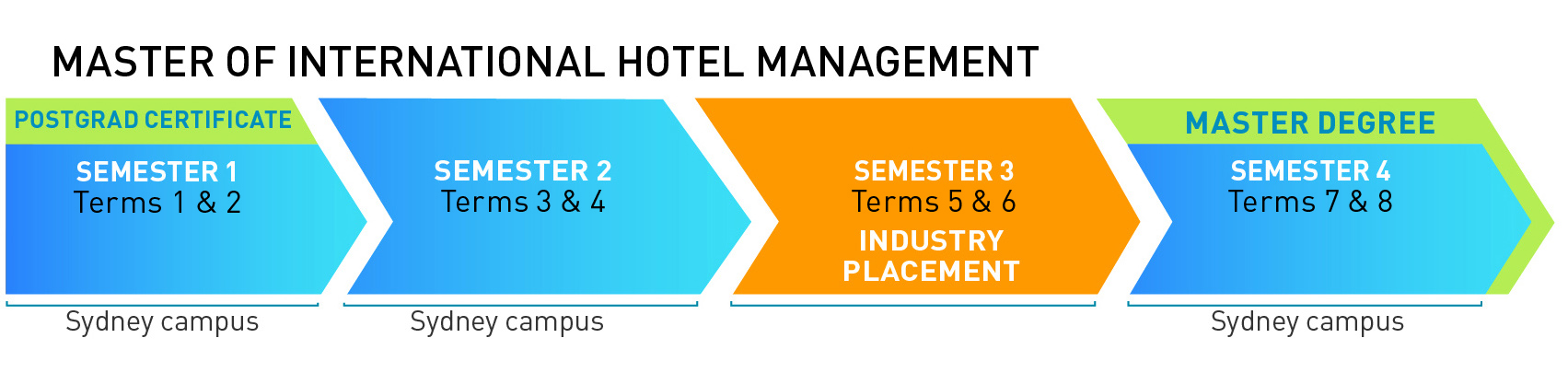 Course Outline for Master Degree in International Hotel Management